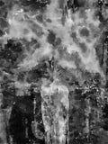 De Grote Waterverfbloem in een Vaas vector illustratie