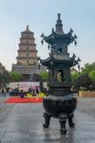 De grote Wilde Pagode van de Gans in Xian Royalty-vrije Stock Afbeeldingen