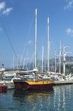 De grote witte privé boot Royalty-vrije Stock Afbeelding