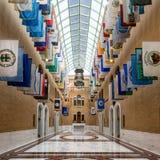 De Grote Zaal in het Capitool van Massachusetts Stock Fotografie