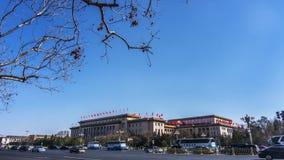 De Grote Zaal van de Mensen in Peking Stock Afbeeldingen