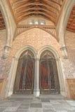De Grote Zaal van het Kasteel van Winchester, Engeland royalty-vrije stock afbeelding