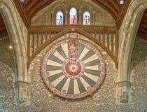 De Grote Zaal van het Kasteel van Winchester in Hampshire, Engeland stock fotografie