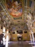 De Grote Zaal van het Museum Stock Afbeeldingen