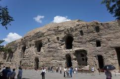 De Grotten van Datongyungang Stock Foto