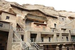 De grotten van Dunhuangmogao Royalty-vrije Stock Foto's
