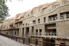 De grotten van Dunhuangmogao Stock Foto's