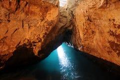 De grotten van HaNikra van Rosh stock fotografie