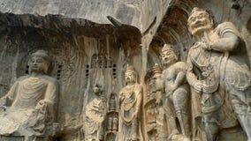 De Grotten van Longmen Royalty-vrije Stock Fotografie