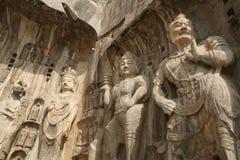 De Grotten van Longmen Royalty-vrije Stock Foto's