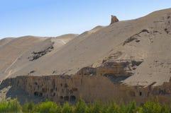 De Grotten van Mogao Stock Afbeelding