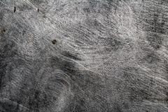 De Grunge geborstelde textuur van de metaaloppervlakte royalty-vrije stock foto