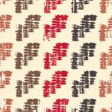 De Grunge gekleurde illustratie van het graffiti naadloze patroon royalty-vrije stock afbeelding