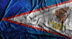 De Grunge verfrommelde vlag van Samoa het 3d teruggeven Royalty-vrije Stock Foto
