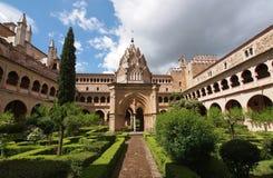 de guadalupe玛丽亚修道院圣诞老人 库存照片