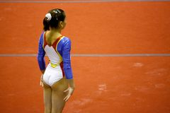 De Gymnastiek- Grand Prix 2008 van Milaan Stock Foto