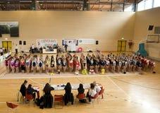 De gymnastiek van de Kop G.p.T van Italië Stock Foto's