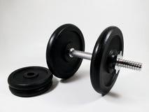 De gymnastiek van gewichten Stock Foto's
