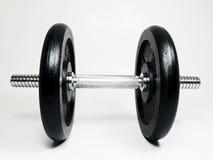 De gymnastiek van gewichten Stock Afbeeldingen