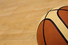 De gymnastiekhof van het basketbal Stock Foto's