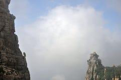 De härliga bergen och floderna Royaltyfria Foton