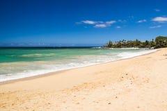 De härliga kusterna av Maui Hawaii Royaltyfri Bild