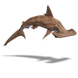 De haai van Hammerhead Royalty-vrije Stock Fotografie