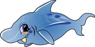 De haai van het beeldverhaal vector illustratie