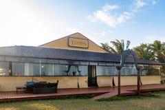 De Haaimuseum van Museudos Tubarões - Fernando de Noronha, Pernam stock foto's