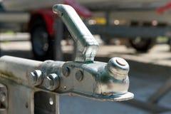 De haak van de close-upaanhangwagen voor boten of auto's Royalty-vrije Stock Fotografie