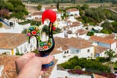 De haan van Barcelos Obidos, Portugal stock fotografie