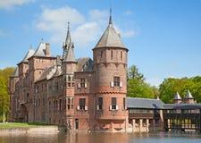 de Haar城堡 库存图片