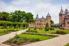 Free De Haar Castle And Rose Garden Stock Photography - 178935502
