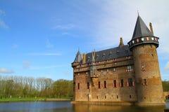 De Haar Castle en Haarzuilens - Países Bajos fotos de archivo