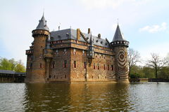 De Haar castle - Netherlands Royalty Free Stock Photography
