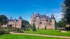 De Haar Castle in  Utrecht Netherlands. De Haar Castle in Utrecht Netherlands stock photo