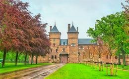 De Haar kasztel blisko Utrecht, holandie Zdjęcia Royalty Free
