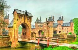 De Haar kasztel blisko Utrecht, holandie Fotografia Royalty Free