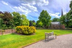 De Haar slott nära Utrecht, Nederländerna royaltyfria foton