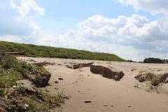 Sandhills van het strand van Haarrijnse Plas royalty-vrije stock fotografie