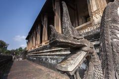 De hagedoorn Phra Kaew is een vroegere tempel in Vientiane, Laos Royalty-vrije Stock Foto's