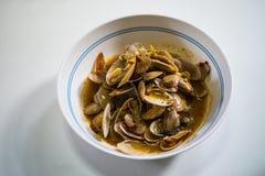 De Hainanese del pollo del arroz plato tradicionalmente imagen de archivo