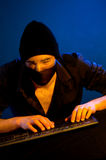 De hakker van de computer Stock Afbeeldingen