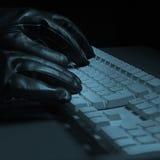 De hakker van de computer Royalty-vrije Stock Foto's