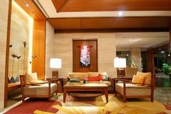 De Hal van het hotel Royalty-vrije Stock Afbeeldingen