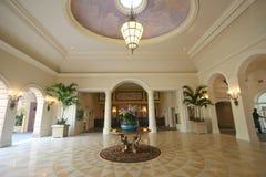 De Hal van het hotel Stock Foto