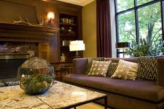 De hal van het luxehotel royalty-vrije stock afbeeldingen