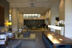 De hal van het luxehotel Stock Foto's