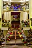 De Hal van Nice bij Kerstmis Stock Afbeelding