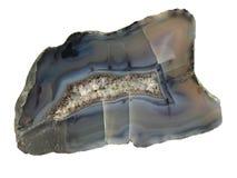 De halfedelsteen van het agaat. royalty-vrije stock afbeelding